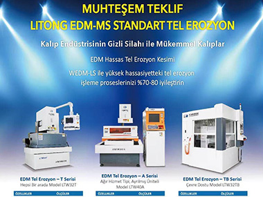 Litong WEDM-MS Published in Turkish TT Magazines Welcome to subscribe!
